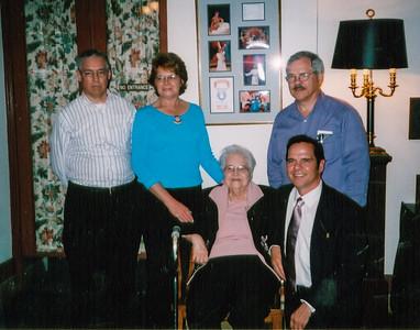 Jim, Sue, Jean Eddie & John Howell 2004