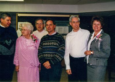 Larry, Jean, Eddie, John, Jim & Sue 1997