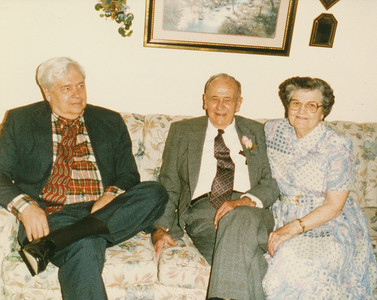 Bill Myers, Ellis Sullivan, Jean Fisher