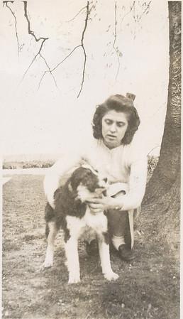 Eileen & dog