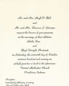 Wedding Invite (Shella Dee Bell)