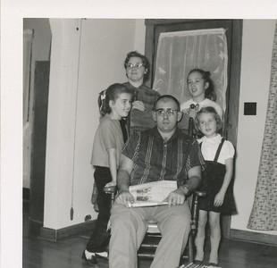 Hugh Bell & Family (Wife Valsta, Children Anita, Valoria & Shella)