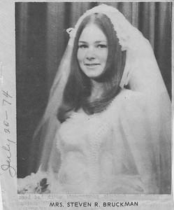 Mrs  Steven R  Bruckman - 20JUL1974