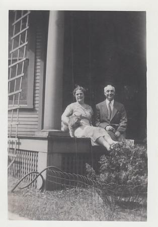 Laura (Wilson) and Henry Berttram - 1937