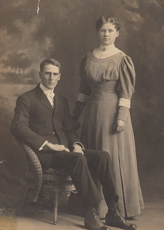 John Marshall & Mattie (Robertson) Bowyer - 1907