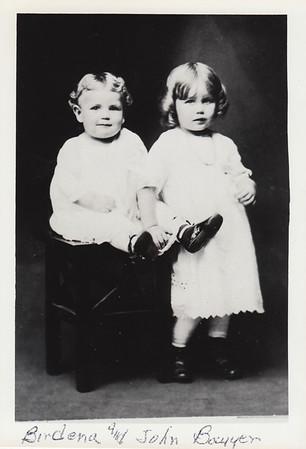 John & Birdena Bowyer - circa 1913