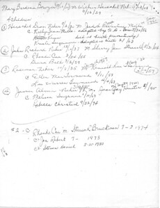 Neher Genealogy