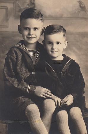 Leo & Eillis Sullivan - Circa 1924