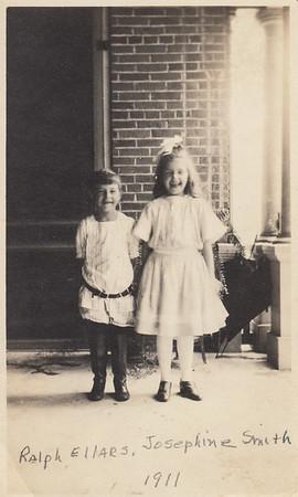 Ralph Ellars & Josephine Smith - 1911