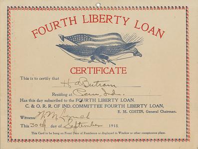 C&O RR Loan Certificate