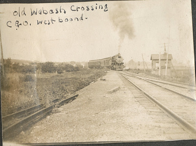 Old Wabash CrossingC&Owest bound