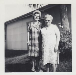 Elizabeth (Brown Clark & Gladys (Clark) Kile