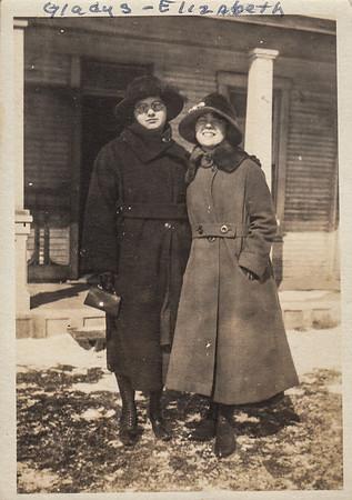 Gladys (Clark) Kile & Elizabeth (Brown) Clark