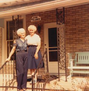 Helen (Clark) Long & Eileen (Clark) Sullivan