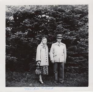 Ethel (Robertson) Clark & Orval Clark