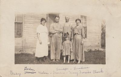 Gladys, Gordon, Francis, Helen, & Mary (Dallas) Clark