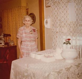 85th Birthday - Ethel (Robertson) Clark