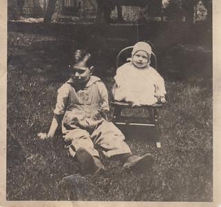 Wilbur Eugene & Wilma Eileen Clark - 1921