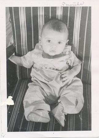 Steven Clark 3 months old