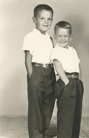 Dennis and Steven Clark