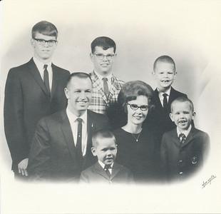Steven, Dennis, Mark, Brad, Brain, Dale & Rose Clark