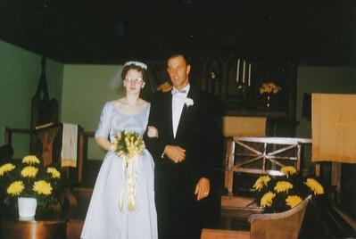 Rose Maire Wentzel & Dale L  Clark 1958