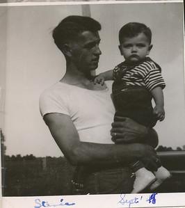 Steven & Dale Clark Sept 1949