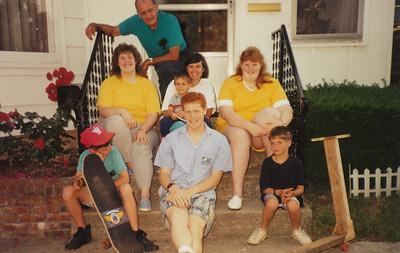 Ellis & Samatha Sullivan, Jane & Jacob Hiller, Joyce Sullivan, Zach Hiller, Stephen Sullivan, Andrew Hiller