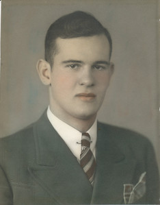 Ellis Sullivan 1940 (Graduation from Bunker Hill High School)