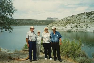 Ellis & Eileen Sullivan, Rosemary Stout, Max Sulllivan 1996