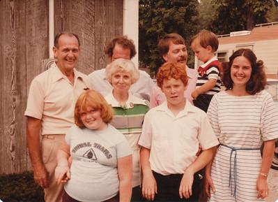 Ellis, Max, Eileen, Joyce & Stephen Sullivan, Nick, Zach & Jane Hiller