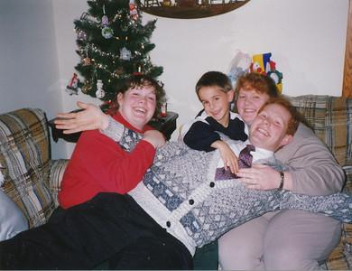 Samantha Sullivan, Jacob Hiller, Joyce & Stephen Sullivan 1994