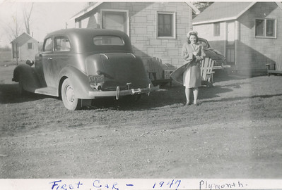 Eileen Sullivan & first car