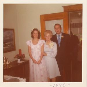 Jane, Eileen & Ellis Sullivan 1973