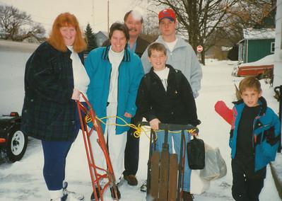 Joyce Sullivan, Jane, Nick, Zach, Andrew & Jacob Hiller 1995