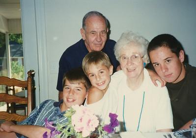 Ellis, Eileen, Andrew, Jacob & Zach