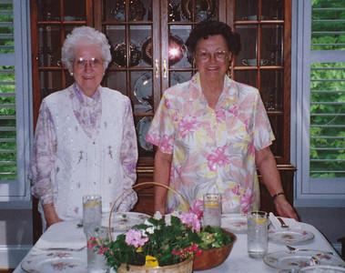 Eileen Sullivan & Joan Hiller