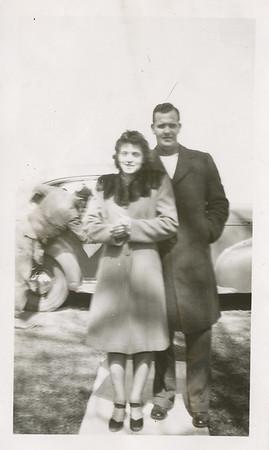 Ellis & Eileen 1945