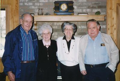 Ellis & Eileen Sullivan, Jean & Scotty Fisher 1999
