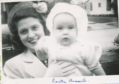 Eileen & Jane 1951 (Easter)