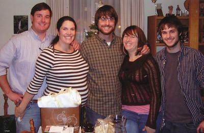 Christmas 2008 (Zach, Caytie, Andrew, Brittney & Jacob)