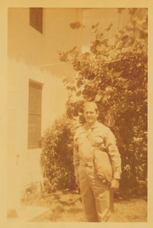 Ellis Sullivan 1945 Army Days