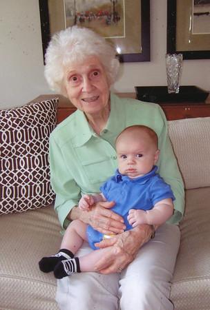 Eileen & Great Grandson Joseph