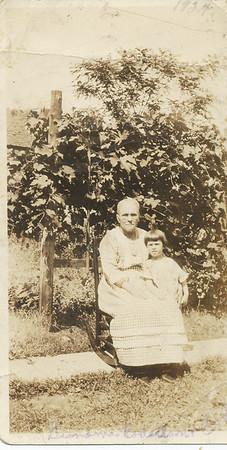 Eileen Clark & Effie Jane Robertson 1924