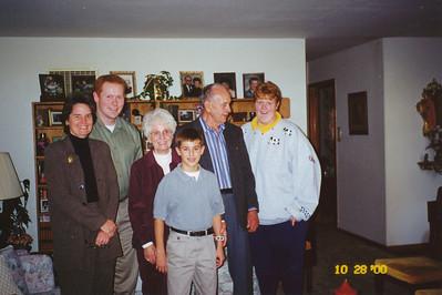Ellis&Eileen with Jane, Jacob, Stephen and Joyce