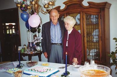 Ellis&Eileen @ 80th birthday
