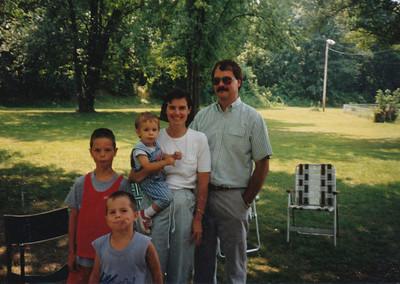 1989 (Jane, Nick, Zach, Andrew & Jacob Hiller)
