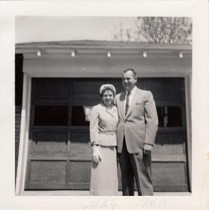 Eileen & Ellis Sullivan - May 1960