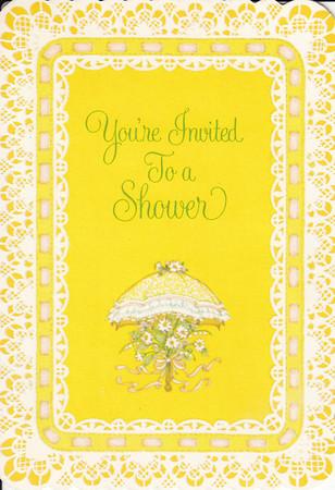 Baby Show invitation for Jane Hiller - June 25, 1980 - 001