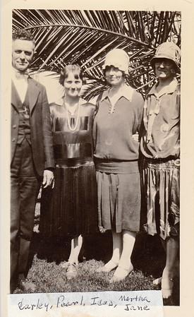 Curley Deems, Pearl Hesser Deems, Icea Hesser & Martha Jane Shield